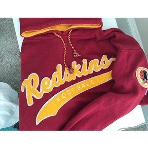 Vintage Redskins Nfl Hoodie L